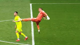 Download 10 SHOCKING Goalkeeper Red Cards In Football Video