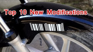 Download top 10 bike modifications Video
