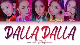 Download ITZY (있지) ″DALLA DALLA(달라달라)″ (Color Coded Lyrics Eng/Rom/Han/가사) Video