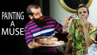 Download Painting a Muse, Artistic Freedom. Cesar Santos vlog 052 Video