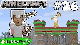 Download Minecraft Castle Challenge! Arrow Battle Against HobbyFrog Now on HobbyPigTV Video