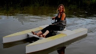 Download Wooden Micro Catamaran - Overview Video