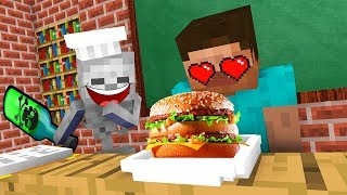 Download Monster School : FUNNY COOKING Challenge - Minecraft Animation Video