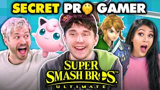 Download Professional Smash Bros Player DESTROYS Gamers Again (Plup) | React Gaming Video