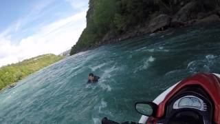 Download GUY FALLS OFF JETSKI IN NIAGARA FALLS RAPIDS Video