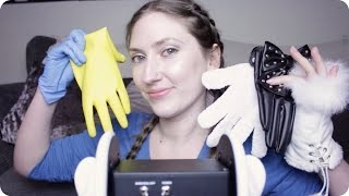 Download ASMR Glove Ear Massage! Rubber, Fishnet, Faux Fur, Leather, Nitrile ~ 2 Hour Sleep Aid (3Dio) Video