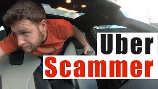 Download Uber Ride SCAM Gone Wrong | Uber Short Stop Scam Canceled Ride Video