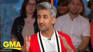 Download 'Queer Eye' star Tan France talks celebs sliding into his DMs for fashion advice l GMA Video