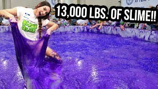 Download SETTING A WORLD RECORD FOR WORLD'S LARGEST SLIME! (NOT CLICKBAIT) Video