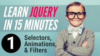 Download Learn jQuery in 15 minutes – Part 1 – Selectors, Animations, Filters Video