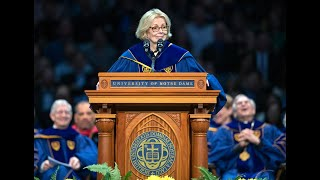 Download Notre Dame Commencement 2019: Peggy Noonan's Address Video