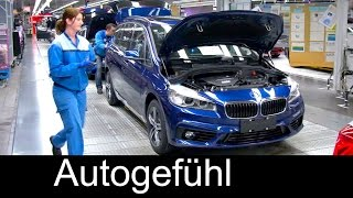 Download BMW car Production Assembly Plant Regensburg, BMW 2-Series Gran Tourer, Produktion 2er Gran Tourer Video