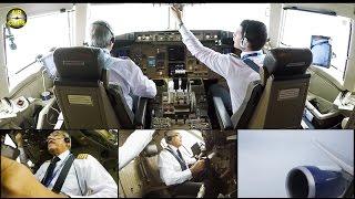 Download Boeing 767-300ER ULTIMATE COCKPIT MOVIE Azerbaijan Airlines Baku-IST [AirClips full flight series] Video