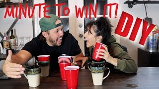Download AT HOME MINUTE TO WIN IT!! Video