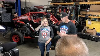 Download SURPRISING INJURED VETERANS WITH A BRAND NEW CUSTOM RZR Video