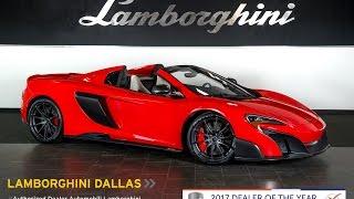 Download 2016 McLaren 675 LT Spider Delta Red LT1019 Video