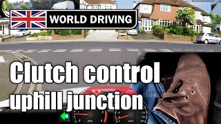 Download Clutch Control At Junctions Uphill - Learning To Drive A Manual / Stick Shift Car Video