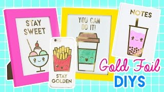 Download How to Make Gold Foil Phone Cases, Notebooks, and Prints! Video