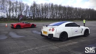 Download Supercars Head-to-Head at Vmax Stealth - LaFerrari, P1, 918, Veyron, Agera Video
