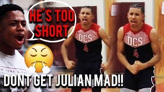 Download ″HE'S A BABY!″ Julian Newman DROPS 41 POINTS on Crowd 'Mocking His Height'! OVERRATED CHANTS Again! Video