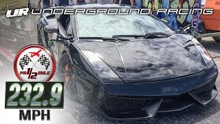 Download Underground Racing Lambo Wins Puerto Rico 1/2 Mile Three Times in a Row Video