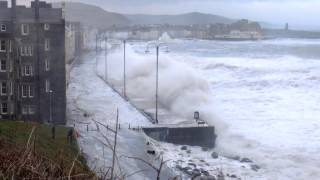 Download Huge Storm Waves Aberystwyth 3 January 2014 - Part 2 Video