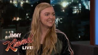Download Elsie Fisher on Starring in Movie Eighth Grade Video