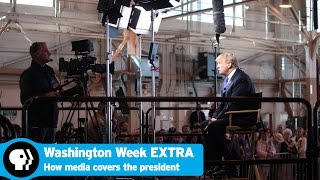Download How the media covers the president Video