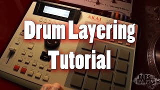 Download Hip Hop Drums Tutorial How To Layer Chop Thick Full Drums MPC Video