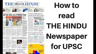 Download How to read The Hindu newspaper for UPSC 2019 - Explained by Dr Gaurav Garg Video