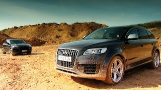 Download Cayenne Turbo v Audi Q7 V12 TDI - Fifth Gear Video