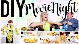 Download DIY MOVIE NIGHT: FOOD, DECOR & GAMES! | Meghan Rienks Video
