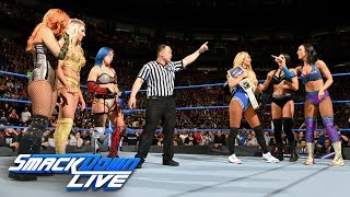 Download Charlotte Flair, Asuka & Becky Lynch vs. Carmella & The IIconics: SmackDown LIVE, May 1, 2018 Video