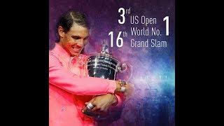 Download Rafael Nadal Hard Court Master USOPEN 17 Video