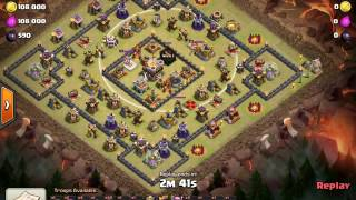 Download Th11 Square Base New Strategy 3 Point Break Get your miners into the center every time! Clash W Jaxx Video