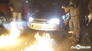 Download K20 turbo civic hatch vs b turbo 4 door civic Video