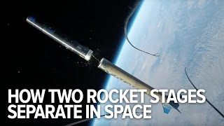 Download Rocket stage separation seen from the outside for the first time ever Video