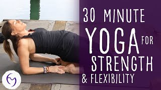 Download 30 Minute Yoga for Strength and Flexibility With Fightmaster Yoga Video