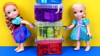 Download Moving Day ! Elsa and Anna toddlers are packing Video