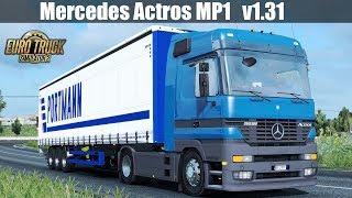 Download ✅ [ETS2 1.31] Mercedes Actros MP1 / Update 19 July 2018 Video