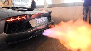 Download The BEST Supercar Exhaust FLAMES Ever!! Video