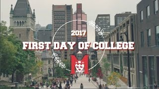 Download FIRST DAY OF COLLEGE - MCGILL UNIVERSITY Video