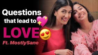 Download Questions that make strangers fall in love Ft. MostlySane | Leeza Mangaldas Video
