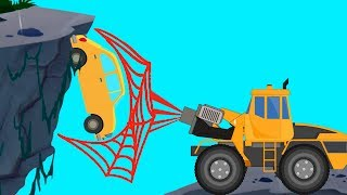 Download Transformer | Spider Truck | Vacuum Truck | Fire Rescue | Truck Video For Kids Video