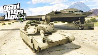 Download GTA 5 PC Mods - REAL LIFE ARMY MOD! GTA 5 Stealth Bomber & M1 Abrams Tank Mod! (GTA 5 Mod Gameplay) Video