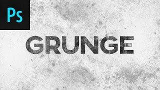 Download Grunge Effect Photoshop Tutorial Video