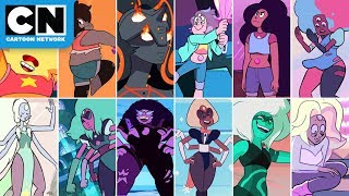 Download Steven Universe | Top Gem Fusions | Cartoon Network Video