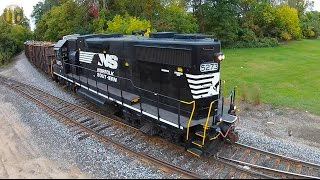 Download Trains from Above (Drone Video) Video