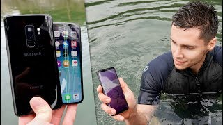 Download Samsung Galaxy S9 vs iPhone X Water Test! Secretly Waterproof? Video