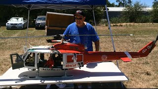 Download Huge Scale RC Helicopter - Bell 205 ″Huey″ Video